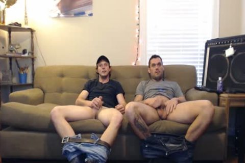 these boyz told They Were Straight, But They'd Still jerk off. They did not Know The Camera Was On.