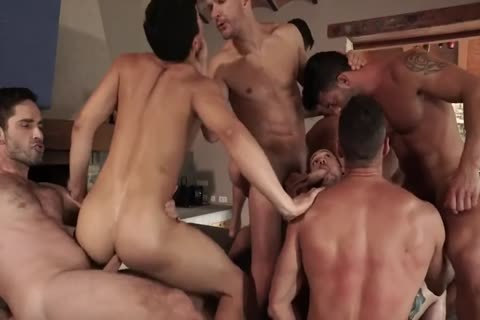 11 males bare orgy lovely raw fuck