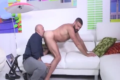 Brian Davilla And Marco Napoli - Bearded Bald Hung Beardad-bearded Hunk: Hj-rim-bb-bj-hj-spooge